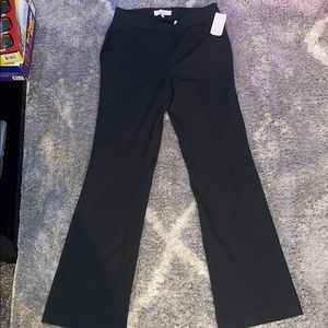 NWT! Lark & ro size 0 black dress slacks.